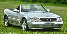 Mercedes-Benz 500SL r129 2000