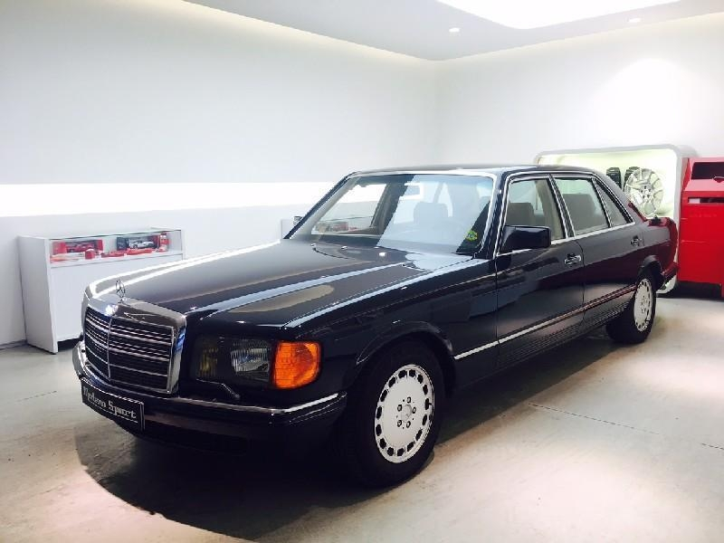 1982 mercedes benz 500 se l w126 is listed for sale on. Black Bedroom Furniture Sets. Home Design Ideas