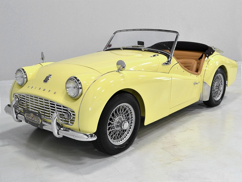 1958 Triumph Tr3 Is Listed Såld On Classicdigest In Macedonia By For