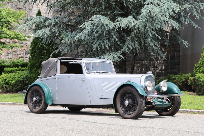 1936 aston martin 15/98 is listed verkauft on classicdigest in