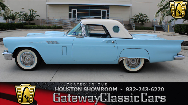 1957 Ford Thunderbird Is Listed Zu Verkaufen On Classicdigest In Houston By Gateway Classic Cars Houston For 39000