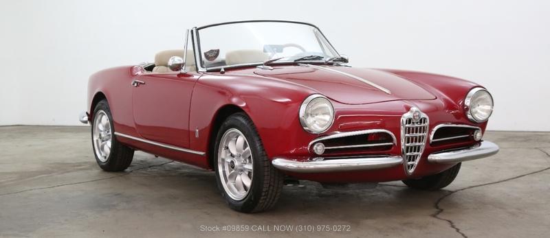 Alfa Romeo Los Angeles >> 1960 Alfa Romeo Giulietta Spider Is Listed Sold On Classicdigest In