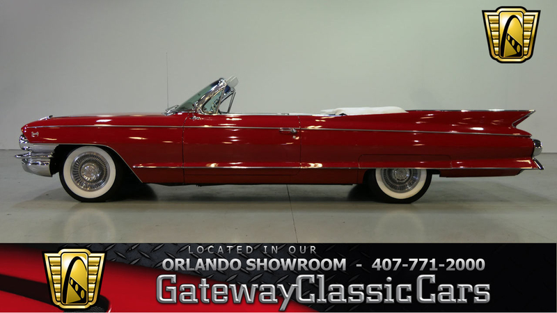 1961 Cadillac Eldorado Is Listed Sold On Classicdigest In Lake Mary By Gateway Classic Cars For 100000 Classicdigest Com
