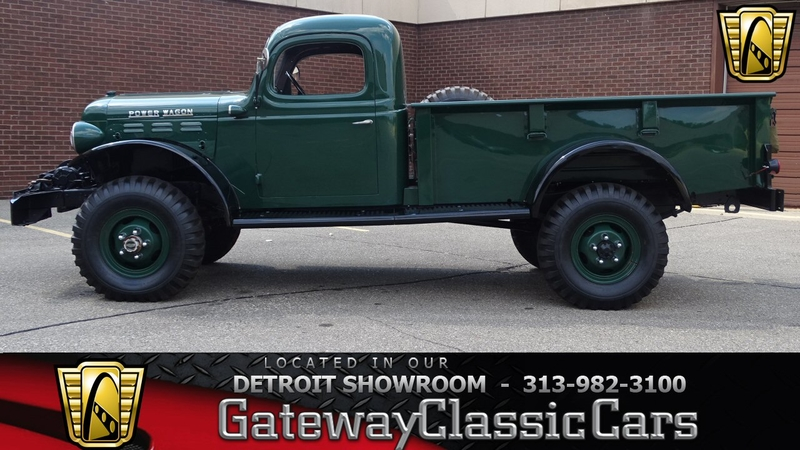 Dodge Power Wagon For Sale >> 1946 Dodge Power Wagon Is Listed For Sale On Classicdigest In Dearborn By Gateway Classic Cars Detroit For 60000