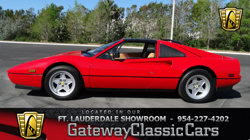 1986 Ferrari 328 Gts Is Listed Verkauft On Classicdigest In Coral Springs By Gateway Classic Cars For Preis Nicht Verfügbar Classicdigest Com