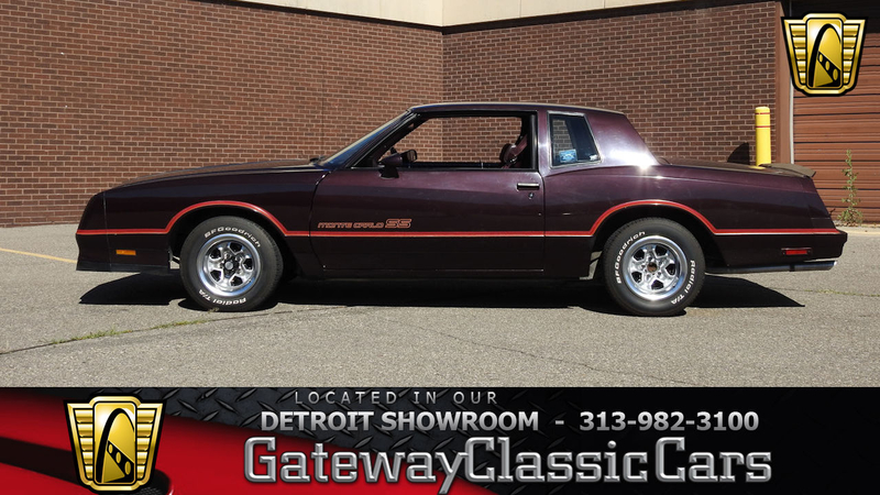 1985 Chevrolet Monte Carlo is listed Sold on ClassicDigest in