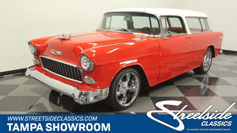 1955 Chevrolet Nomad Is Listed Sold On Classicdigest In Lutz By Streetside Classics For 46995 Classicdigest Com