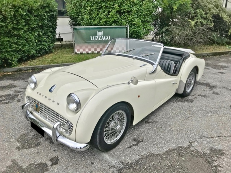 1959 Triumph Tr3 Is Listed Sold On Classicdigest In Brescia By