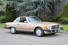 Mercedes-Benz 560SL w107 1986