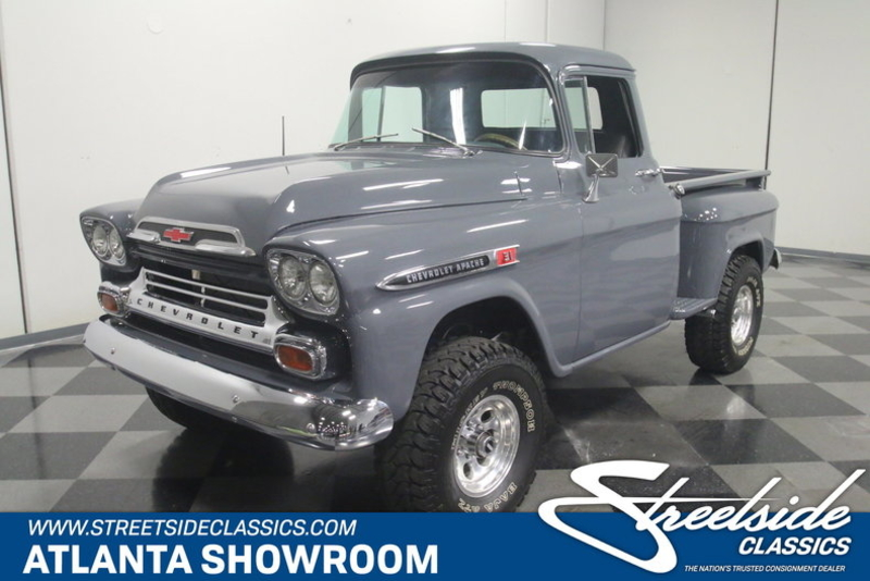 1959 Chevrolet Apache Is Listed Sold On Classicdigest In Lithia Springs By Streetside Classics For 44995 Classicdigest Com