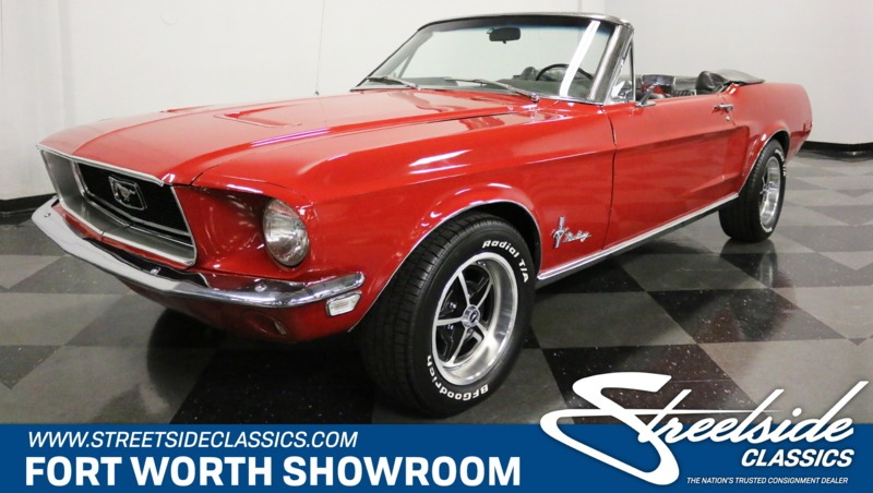 1968 Ford Mustang is listed For sale on ClassicDigest in Dallas / Fort  Worth, Texas by Streetside Classics - Dallas/Fort Worth for $39995