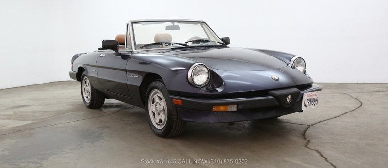 Alfa Romeo Spider Is Listed For Sale On ClassicDigest In Los - 1989 alfa romeo spider