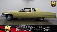 Cadillac De Ville 1975