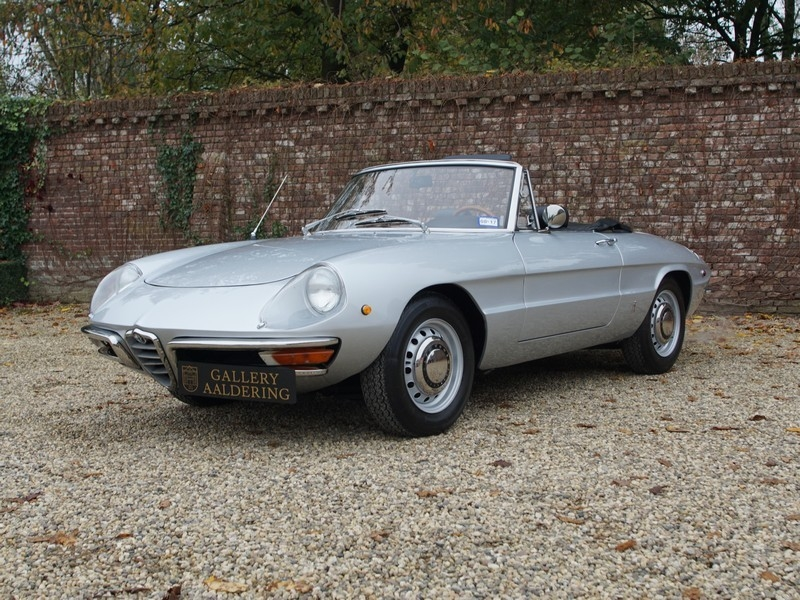 1969 alfa romeo spider duetto is listed for sale on classicdigest in brummen by the gallery for \u20ac46950 Alfa Romeo Bat 3
