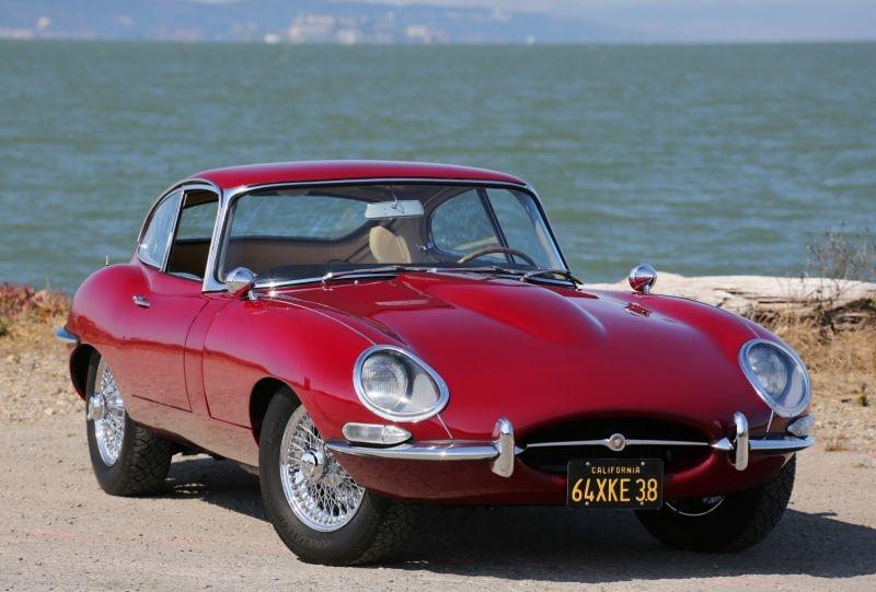 Jaguar E Type XKE 1964