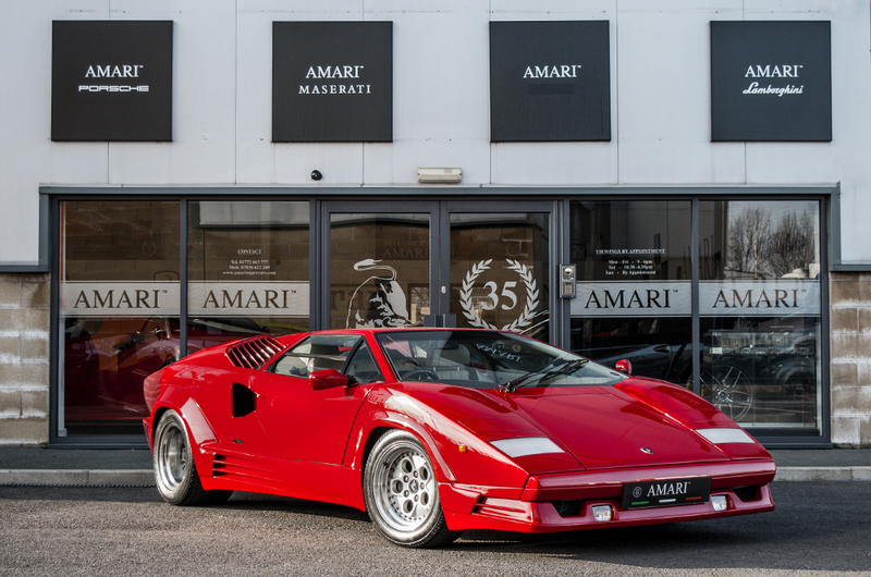 1989 Lamborghini Countach Is Listed For Sale On Classicdigest In