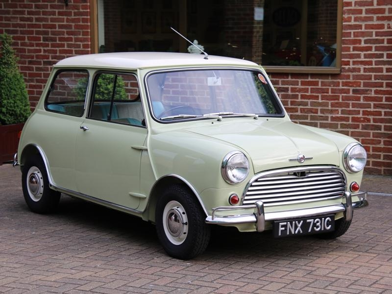 1964 Austin Mini Is Listed Verkauft On Classicdigest In Mayfair By