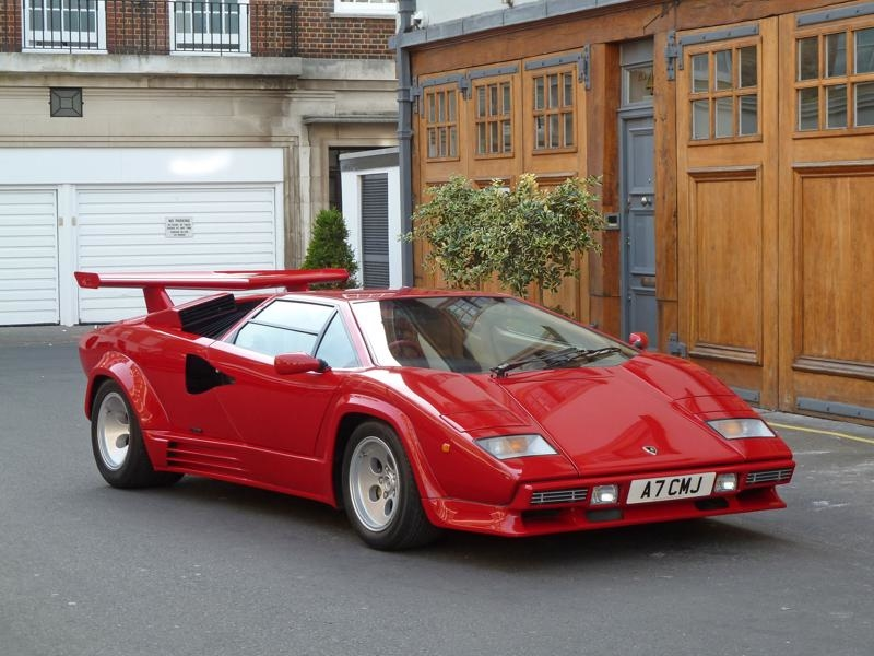 1988 Lamborghini Countach Is Listed Sold On Classicdigest In Mayfair