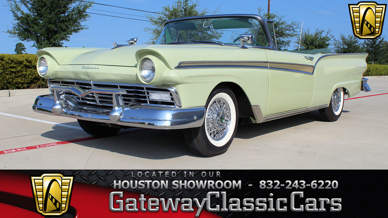 1957 Ford Fairlane Is Listed Zu Verkaufen On Classicdigest In Houston By Gateway Classic Cars Houston For 91000