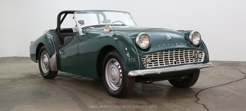 1960 Triumph Tr3 Is Listed For Sale On Classicdigest In Los Angeles