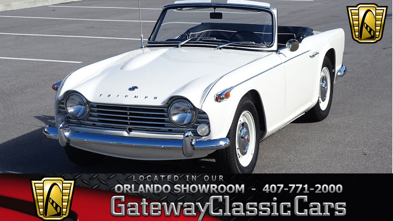 1966 Triumph Tr4 Is Listed For Sale On Classicdigest In Lake Mary By