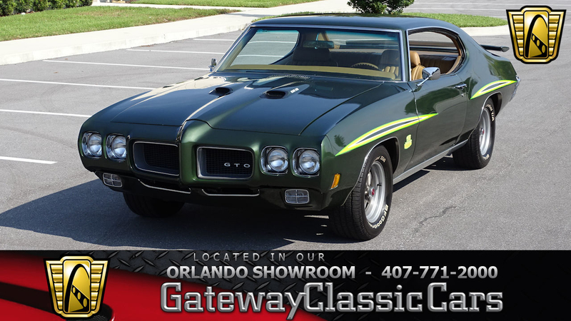 1970 Pontiac GTO is listed Till salu on ClassicDigest in Lake Mary by  Gateway Classic Cars - Orlando for $39000