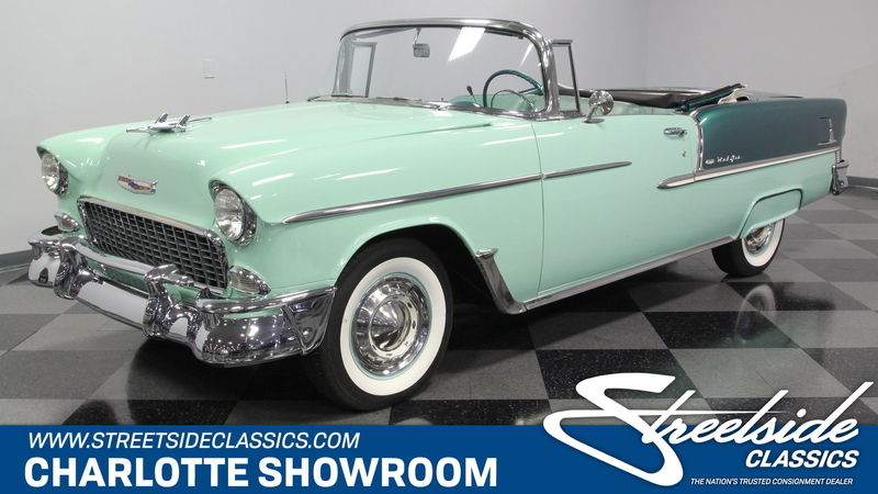 Chevrolet Bel Air >> 1955 Chevrolet Bel Air Is Listed For Sale On Classicdigest In Charlotte North Carolina By Streetside Classics Charlotte For 84995