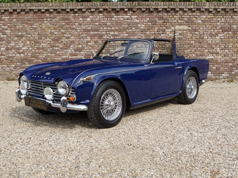 1964 Triumph Tr4 Is Listed Såld On Classicdigest In Brummen By