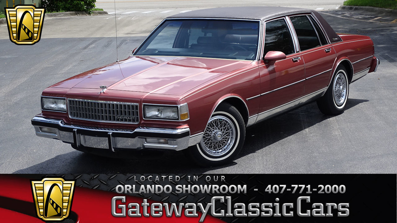 1987 Chevrolet Caprice Is Listed Verkauft On Classicdigest In Lake Mary By Gateway Classic Cars For Preis Nicht Verfügbar Classicdigest Com