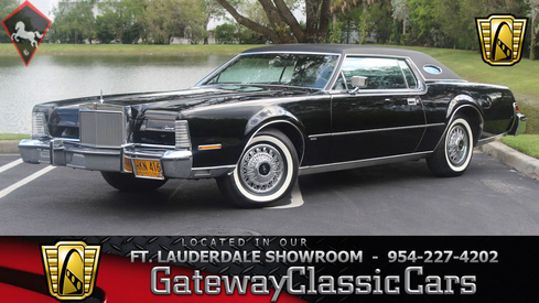 Lincoln Continental Mark IV 1974