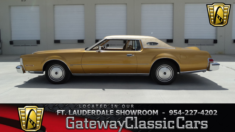 1974 Lincoln Continental is listed Verkauft on ClassicDigest in