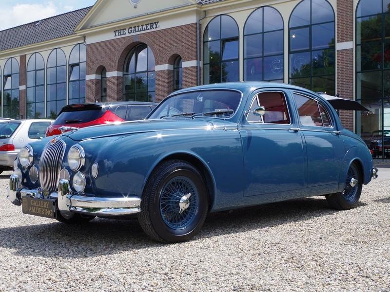 1958 jaguar mk1 is listed for sale on classicdigest in brummen