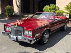 Cadillac Eldorado Biarritz 1985