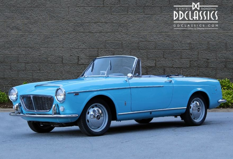 1961 Fiat 1500 Spider Pininfarina Is Listed For Sale On