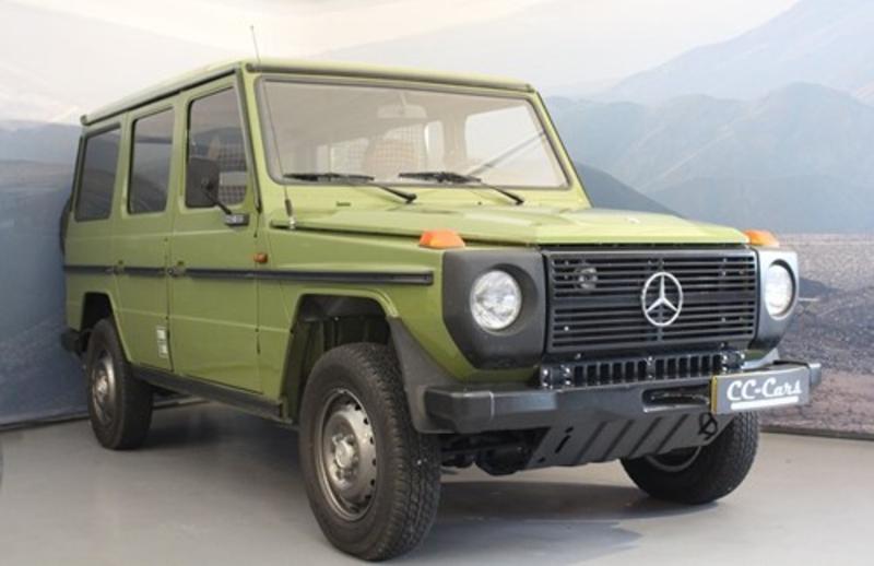 1981 mercedes-benz geländewagen is listed zu verkaufen on