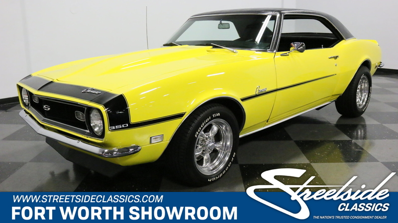 1968 Chevrolet Camaro is listed Till salu on ClassicDigest in Dallas / Fort  Worth, Texas by Streetside Classics - Dallas/Fort Worth for $36995