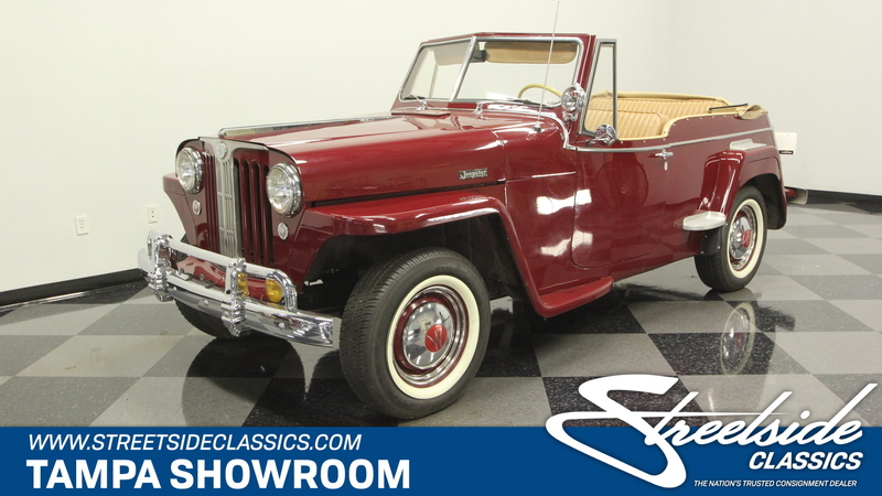 1948 Willys Jeepster is listed For sale on ClassicDigest in Tampa, Florida  by Streetside Classics - Tampa for $36995