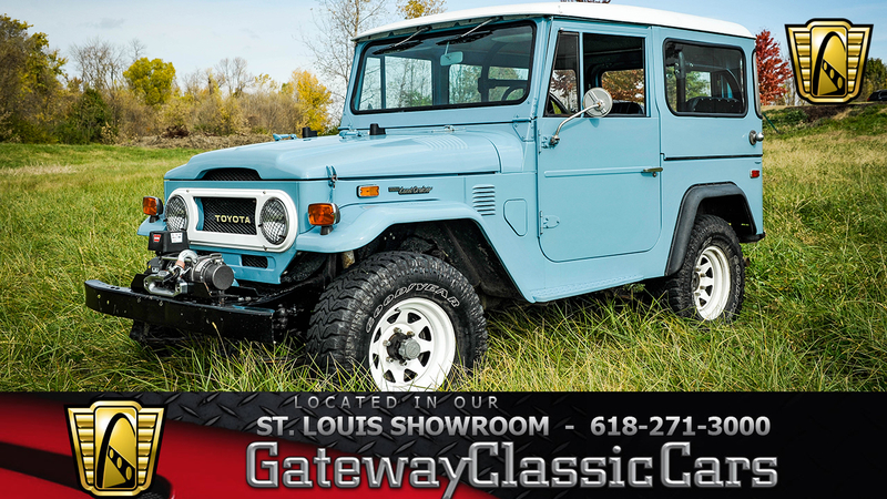 1974 Toyota FJ40 is listed Verkauft on ClassicDigest in