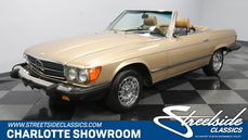 Mercedes-Benz 380SL w107 1983
