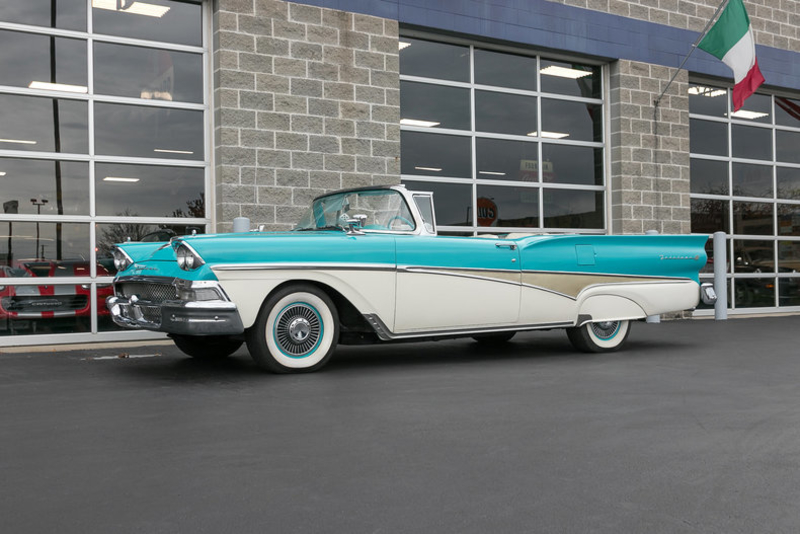 1958 Ford Skyliner is listed For sale on ClassicDigest in Missouri by Fast  Lane Classic Cars for $56500