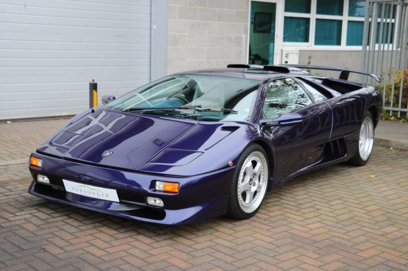 1998 Lamborghini Diablo Is Listed For Sale On Classicdigest In