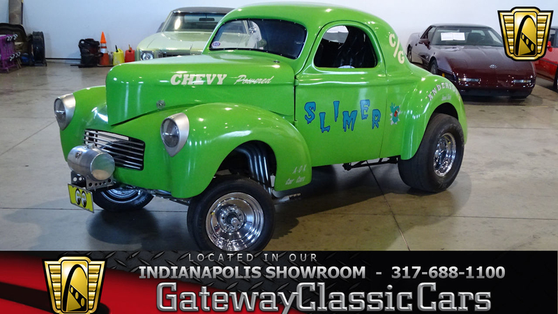 1941 Willys Coupe is listed For sale on ClassicDigest in Indianapolis by  Gateway Classic Cars - Indianapolis for $65000