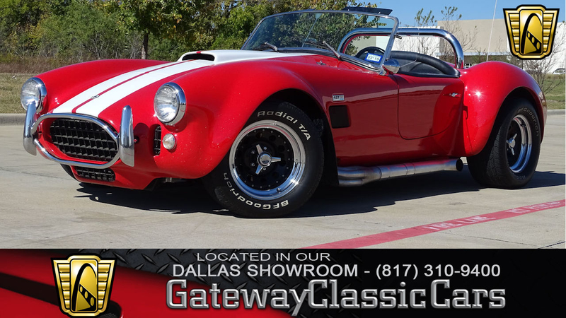 Cobra Kit Car >> 1966 Ac Cobra Replica Is Listed For Sale On Classicdigest In Dfw Airport By Gateway Classic Cars Dallas For 47500