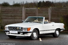 Mercedes-Benz 350SL w107 1980