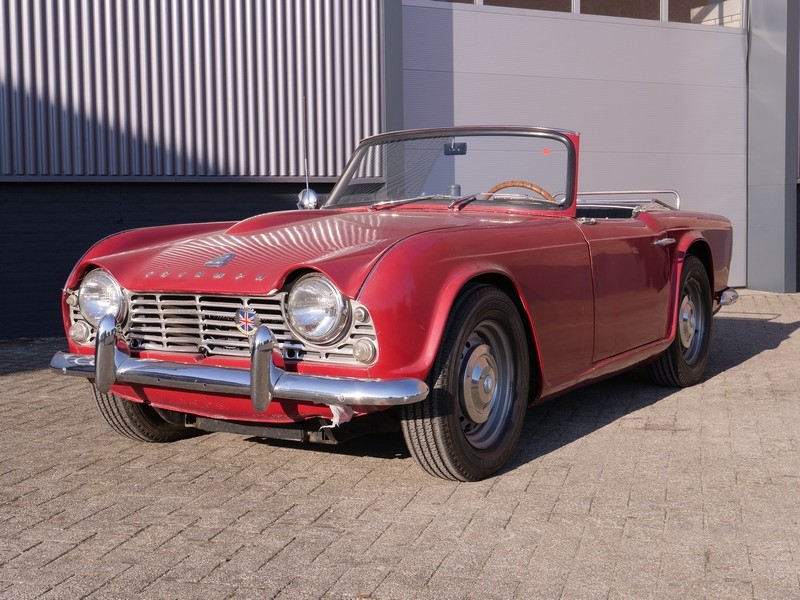 1964 Triumph Tr4 Is Listed Sold On Classicdigest In Brummen By