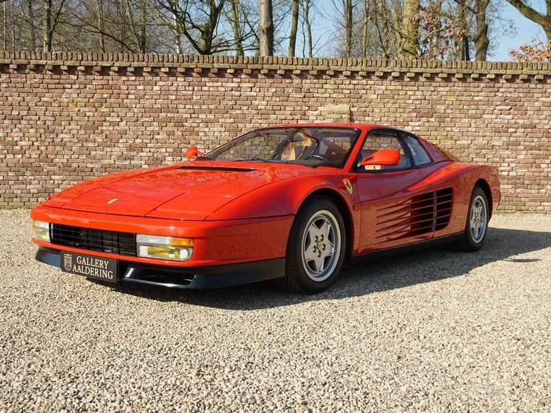 1989 Ferrari Testarossa Is Listed Verkauft On Classicdigest In Brummen By Gallery Dealer For 85950 Classicdigest Com
