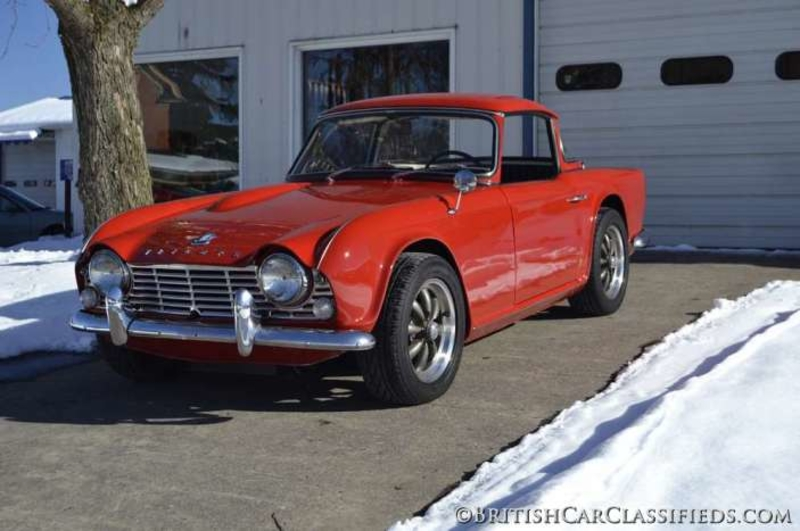 1965 Triumph TR4 is listed Sold on ClassicDigest in Surrey