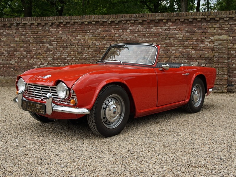 1962 Triumph Tr4 Is Listed For Sale On Classicdigest In Brummen By
