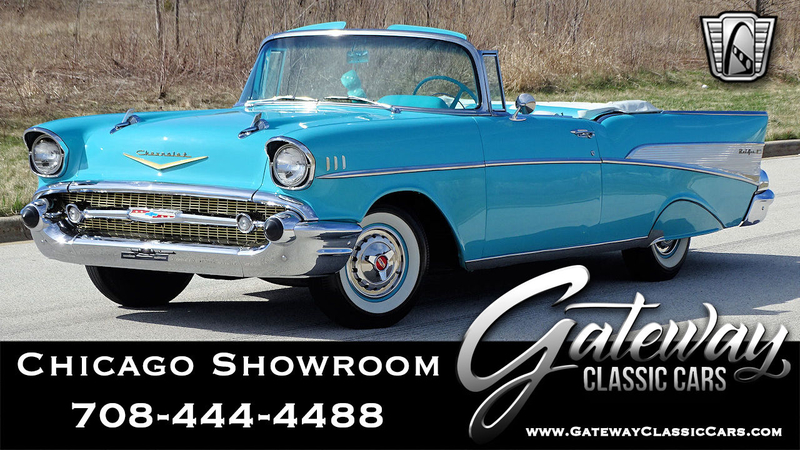 1957 Chevrolet Bel Air is listed For sale on ClassicDigest in Tinley Park  by Gateway Classic Cars - Chicago for $89000