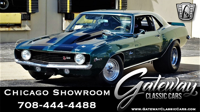 1969 Chevrolet Camaro is listed For sale on ClassicDigest in Tinley Park by  Gateway Classic Cars - Chicago for $38500